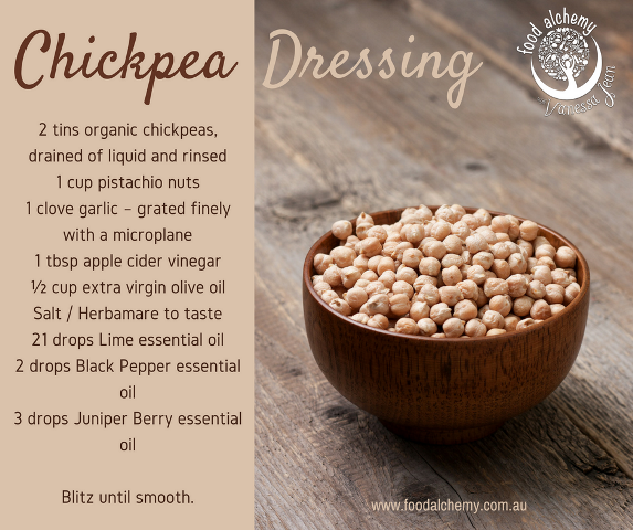 Chickpea dressing