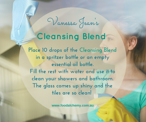 Cleansing Blend essential oil reference: Cleansing Blend