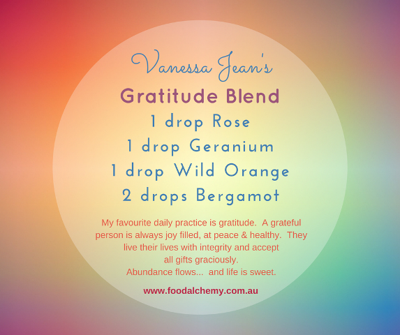 Gratitude Blend, Rose, Geranium, Wild Orange, Bergamot